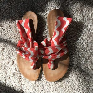 Dirty Laundry sandals, barely worn, size 8